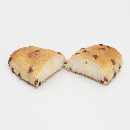 バナナクリームをサンドしたチョコチップメロン
